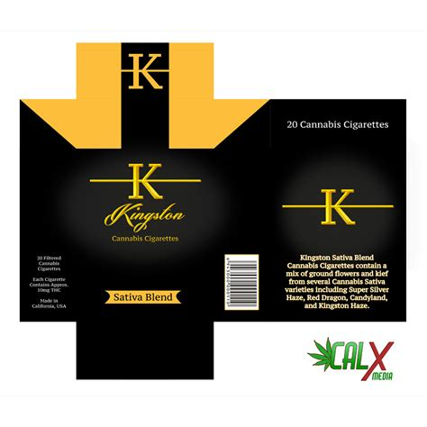 layout package packaging design for cannabis products calx media