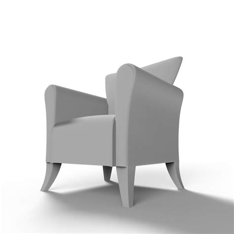 3d Printed Chair by Miniature 3d Print Ready Chair 09 3d Model 3d Printable