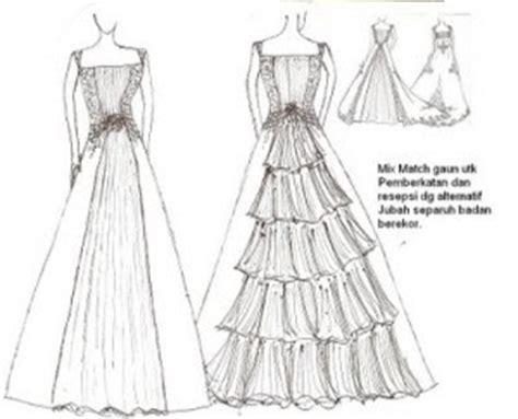 simpal gaun nigty fashion wedding dresses