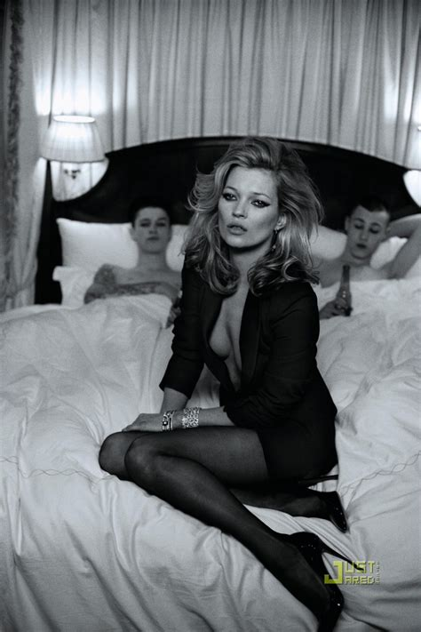 Kate Turns For Us Harpers Bazaar by Kate Moss In Us Harpers S Bazaar March 2010