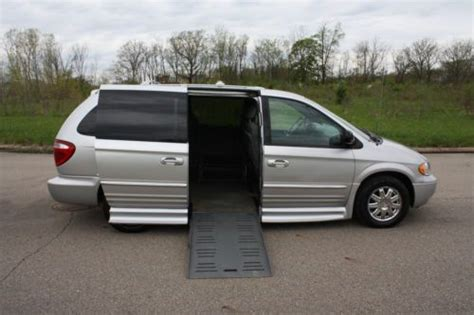 auto body repair training 2004 chrysler town country windshield wipe control purchase used 2004 chrysler town and country wheelchair accessible side entry handicap van in