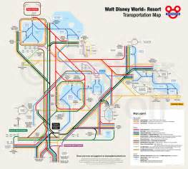 Disney World Resort Map by Incredible Map Of Walt Disney World Resort Transportation