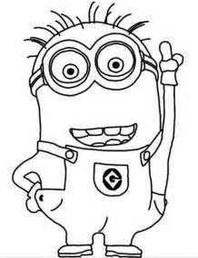 minion pictures to color minion coloring pages koloringpages