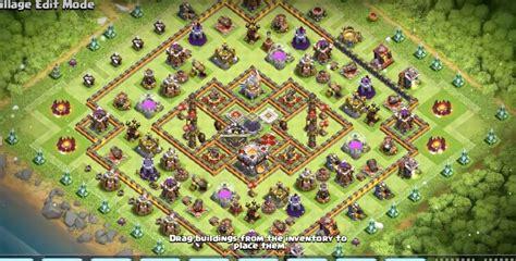 th8 base layout th 11 update 12 base layouts 2017 ke liye farming pushing clan war