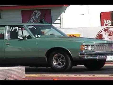 Sleeper Drag Car by 78 Pontiac Sleeper 4 Door Drag Racing Avi