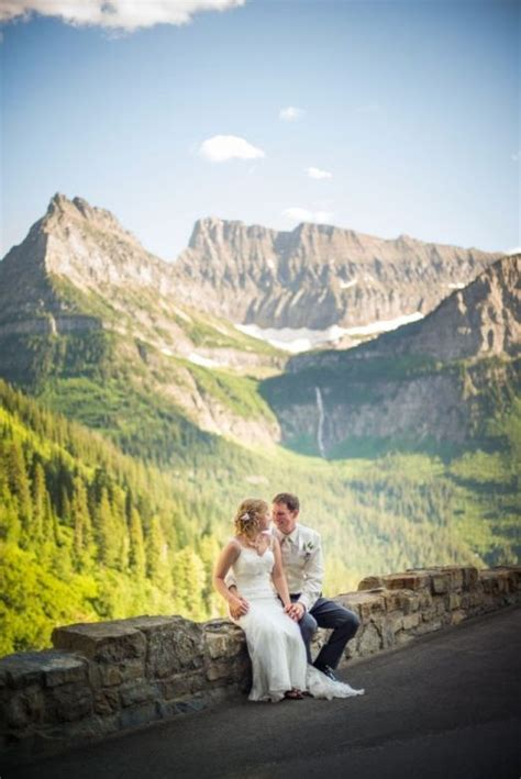 21 best Glacier National Park Wedding images on Pinterest
