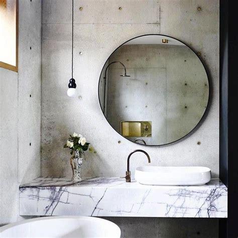 bathroom mirror ideas on wall best 25 large round wall mirror ideas on pinterest