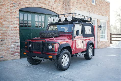 manual repair autos 1994 land rover defender 90 on board diagnostic system 1994 land rover defender 90 nas sport utility 3 8l manual for sale photos technical
