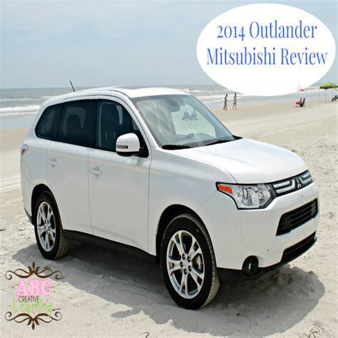 mitsubishi suv 2014 the 2014 mitsubishi outlander se suv family review plus