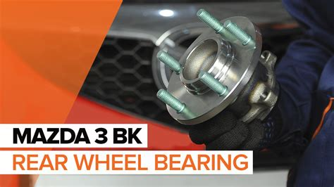 how to replace rear wheel bearing in a 1997 chrysler lhs how to replace a rear wheel bearing on mazda 3 bk tutorial autodoc youtube