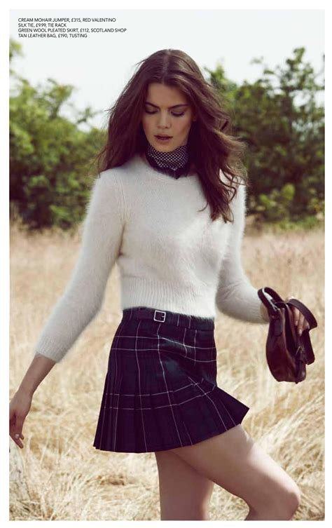 absolutely mad for the tartan mini kilt in august magazine
