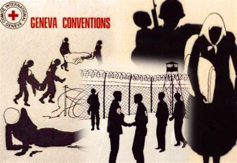 Geneva Convention | opinions on geneva conventions