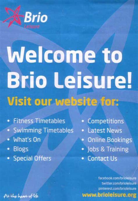 brio leisure chester chester tourist northgate arena