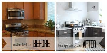Can You Paint Kitchen Cabinets White Diy Painting Oak Kitchen Cabinets White Youtube Painting
