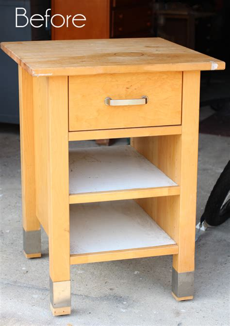 mini kitchen island update confessions of a serial do it