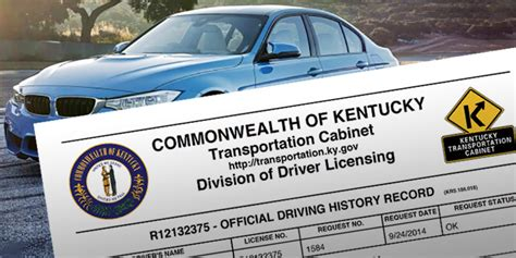 Verification Letter Drivers License Ky Purchase A Driving History Record Verification Letter Drivers License Ky Letter Sle