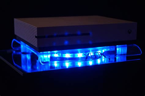 xbox one led fan rgb led usb design fan stand xbox one x s scorpio