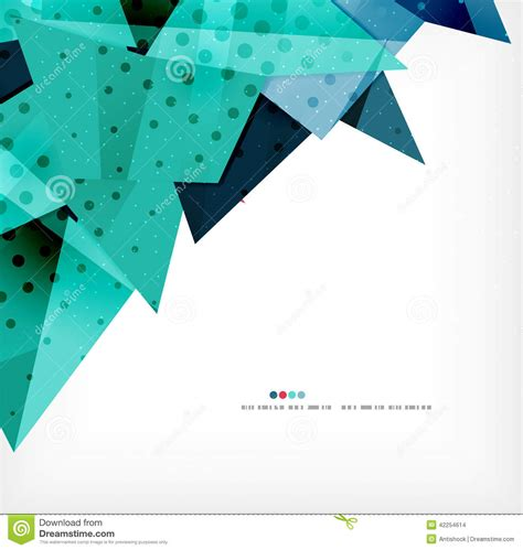 poster abstract layout geometric shape abstract futuristic background stock