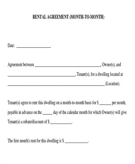 room rental template 8 room rental agreement form sle exles in word pdf