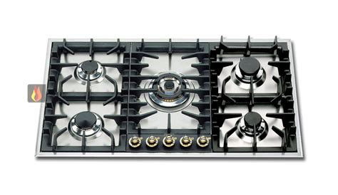 plaque cuisson 5 feux gaz plaque de cuisson gaz 90 cm inox encastrable 5 feux