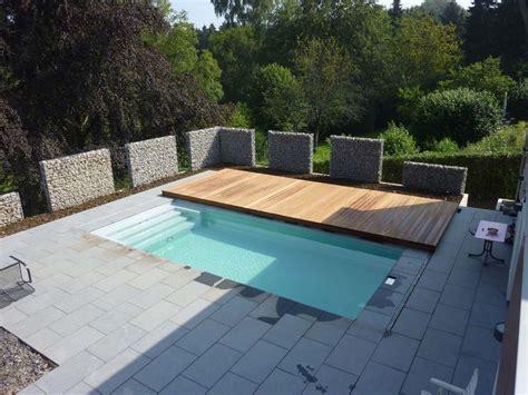 begehbare terrassen schwimmbadabdeckung pools