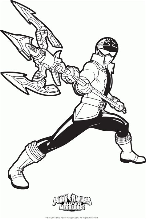 power ranger jungle fury coloring pages az coloring pages