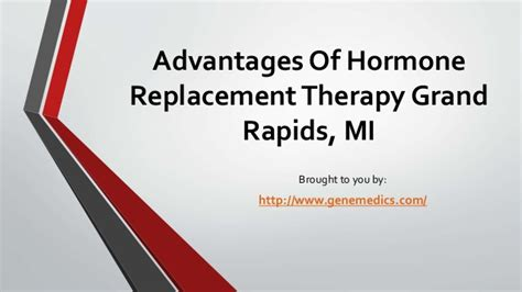 therapy in michigan signs that you need hormone therapy in michigan