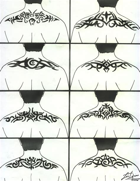 tribal spine tattoo designs back tribal design by juaniglesias90 on deviantart
