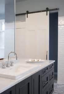 Bathroom barn door design ideas