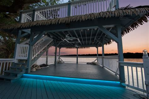 Led Outdoor Patio Lighting Tropical Deck St Louis Outdoor Deck Led Lighting