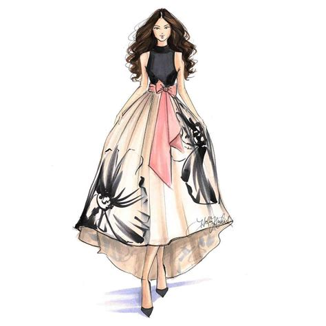 fashion illustration uses h nichols illustration figurines