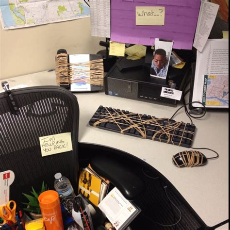 Office Prank Ideas Desk 7 Awesome April Fool S Day Pranks For The Office And Celebrations
