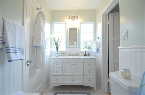 Vintage Wainscoting by Three White Bathrooms Three Different Styles Rate Your