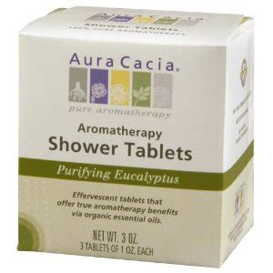 is a steam room for a cough eucalyptus shower steam tablets from aura cacia popsugar fitness