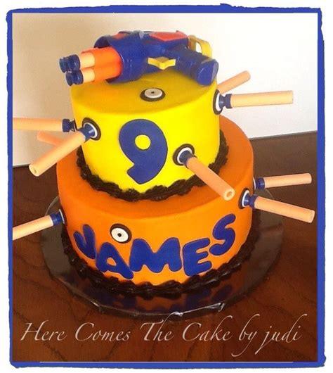 Best 25  Nerf cake ideas on Pinterest   Nerf gun cake, 7th