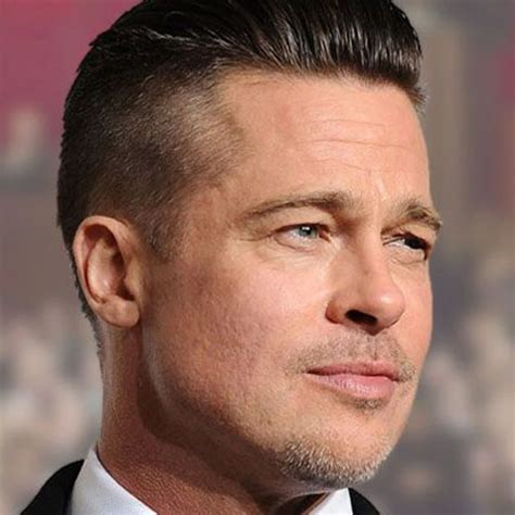 Brad Pitt New Hairstyle by Brad Pitt Undercut Ideas About Best New Hairstyles For