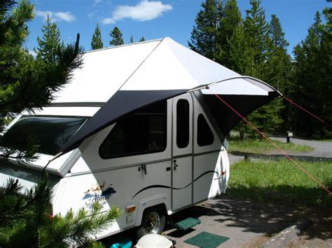 hard awnings for trailers the 25 best ideas about aliner cers on pinterest pop