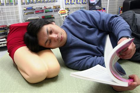 Japanese Leg Pillow by You To See This Japanese Pillow Shaped Like A S