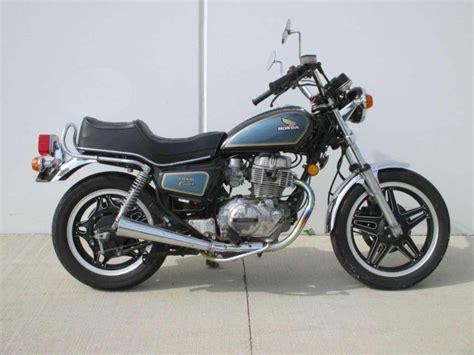 1981 honda cm400 buy 1981 honda cm400 standard on 2040 motos