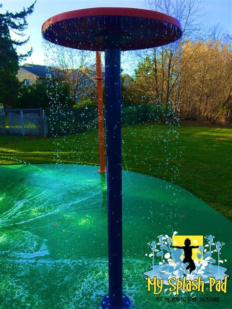 splash pads for backyard carpentersville illinois backyard home splashed installed
