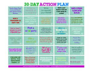 Great Hostess Gifts 30 Day Action Plan For Direct Sales Consultants 187 Work