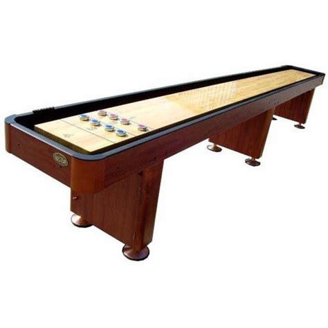 standard 14 shuffleboard table cherry