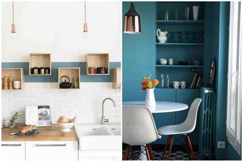cuisine bleu canard cuisine en bleu cheap mur cuisine bleu cuisine bois mur