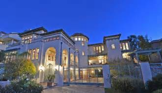 billionaire homes see inside the estate of late billionaire and la lakers