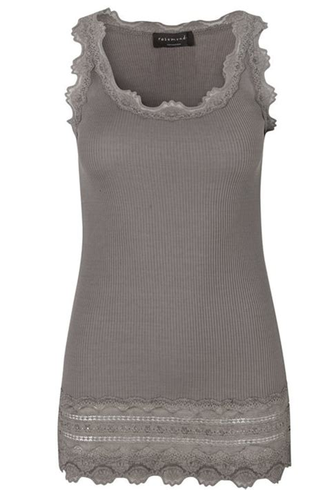 Lace Top Tank Top Bahan Lace driftwood wide vintage lace tank top with lace bottom