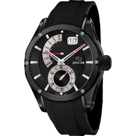 Jaguar Swiss Made J681 Black Rubber Black Spesial Edition Original jaguar j681 2 special edition