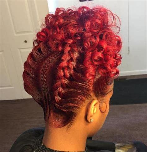 Curls From Goddess Braids   60 inspiring exles of goddess braids