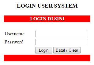 membuat form login session php membuat form login menggunakan session pada php belajar