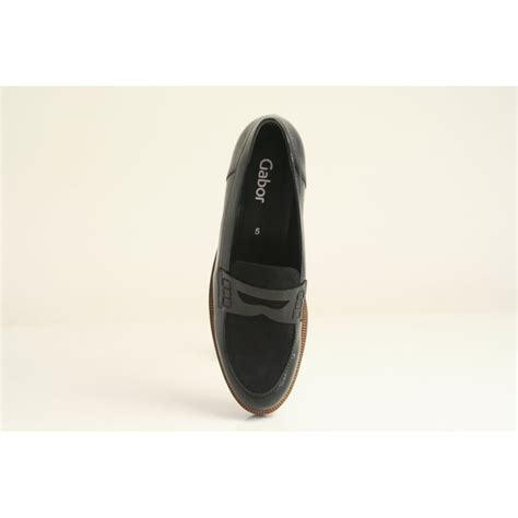 Rugged Sole by Gabor Gabor Style Quot Skipper Quot Black Patent Leather Moccasin