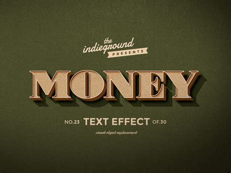 tutorial text effect photoshop indonesia retro vintage text effects vol 3 on behance